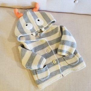 Baby Gap monster sweater